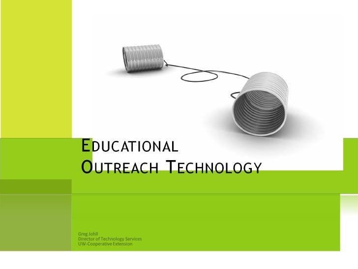 Outreach  Technology