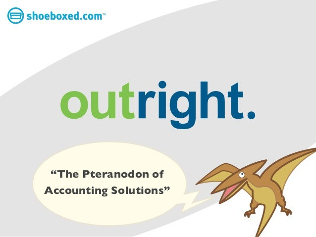 Outright: The Pteranodon of Accounting Solutions