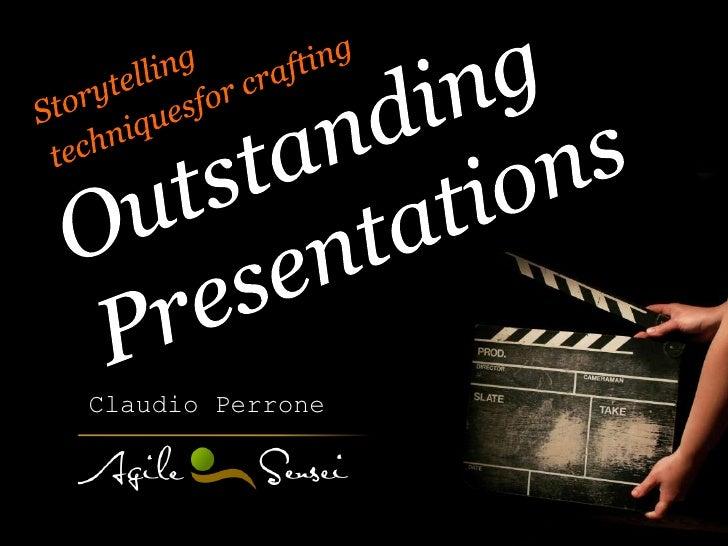 Claudio Perrone - Outstanding Presentations