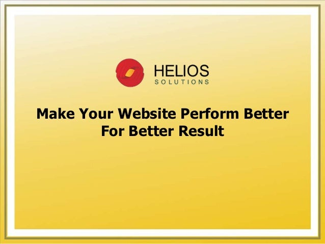 How to make a website better looking