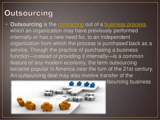 How does outsourcing to foreign countries affect the overall socpe of american buisness.?