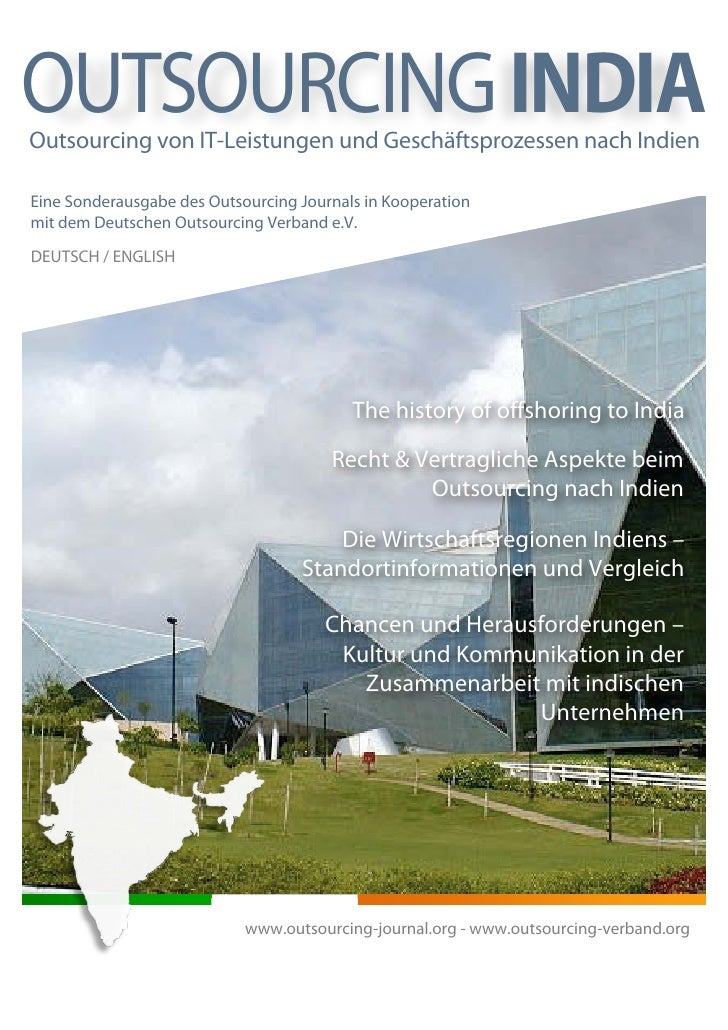Outsourcing INDIA - special edition of the Outsourcing Journal (German/English)