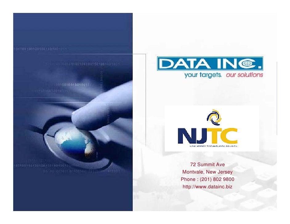 Outsourcing Presentation - New Jersey Technology Council Webinar