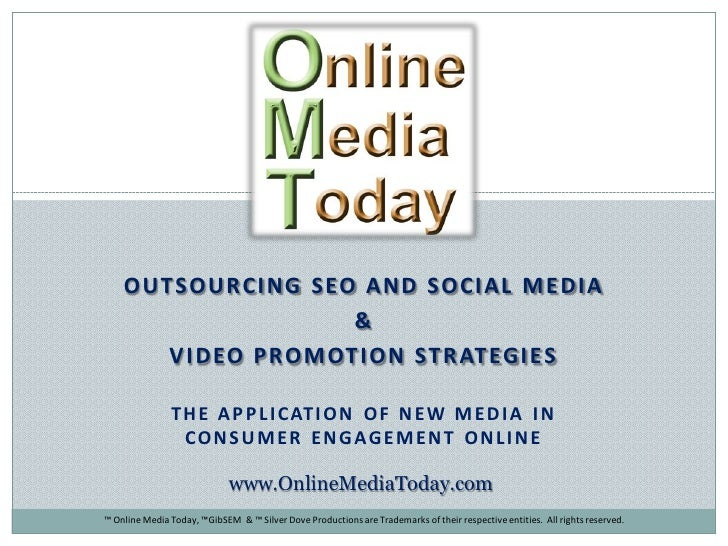 Social Media Outsourcing: 10 Must Ask Questions & Online Video Promotion: Tips to Get Your Video Found Online