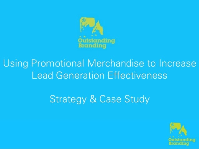 Using Promotional Merchandise to Improve Lead Generation