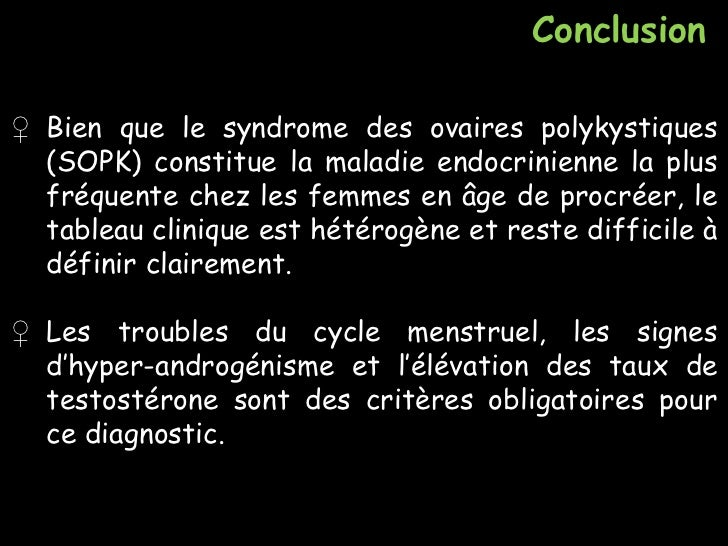 Ovaires polykystiques clomid
