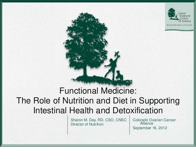 Functional Medicine:The Role of Nutrition and Diet in Supporting    Intestinal Health and Detoxification              Shar...