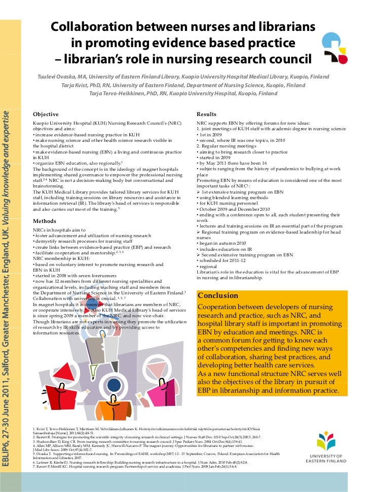 Collaborative Teaching Roles And Responsibilities ~ Collaboration between nurses and librarians in promoting