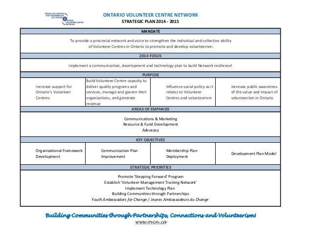 OVCN Strategic Plan