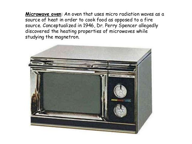 Microwave Oven 1946 ~ Ovens