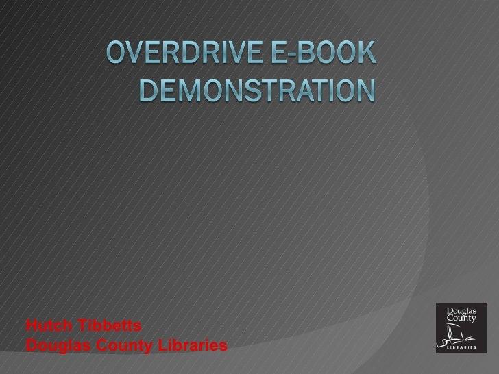 OverDrive eBook Presentation