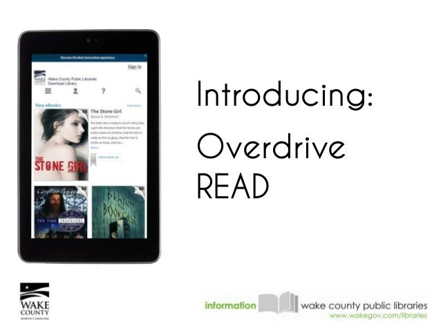 Introducing Overdrive READ