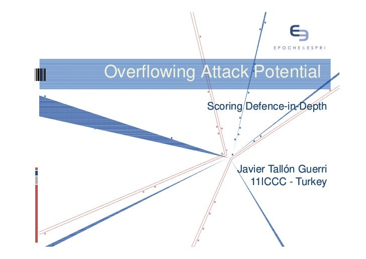 Overflowing attack potential, scoring defence in-depth