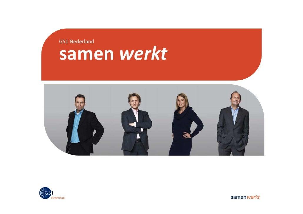GS1 Nederland  samen werkt
