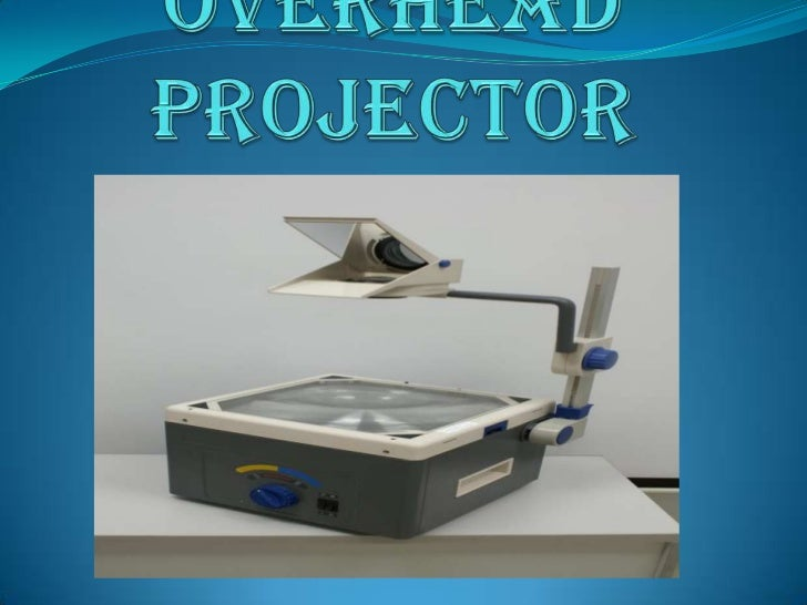 Overhead projector getes