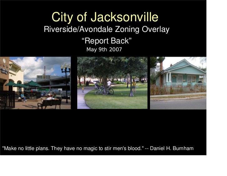 Riverside Avondale Zoning Overlay report