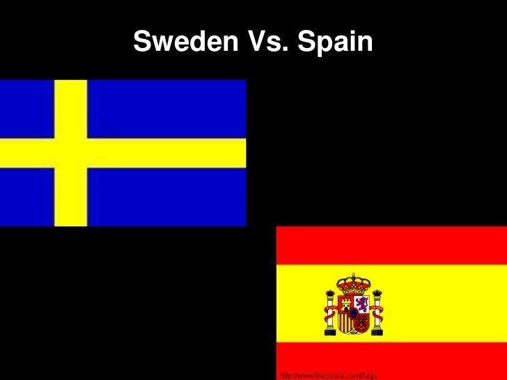 Sweden Vs. Spain