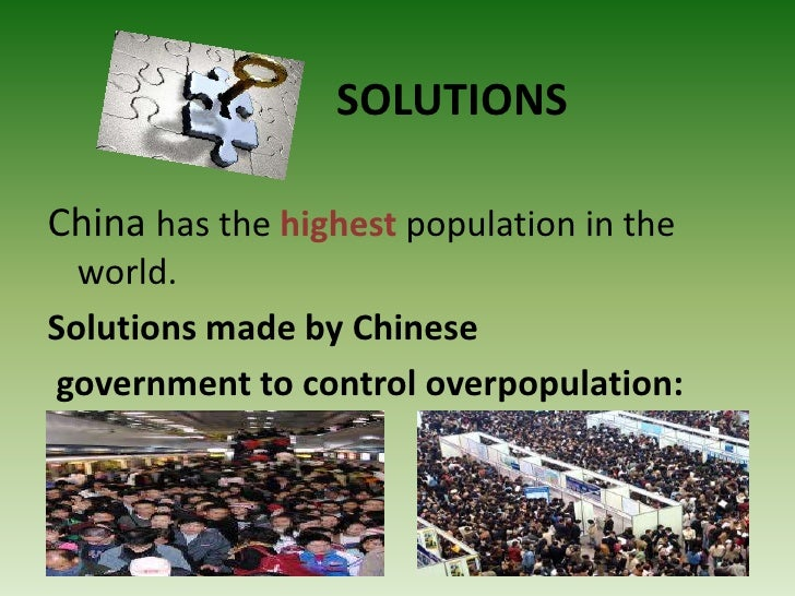 9 Unique Solutions to Overpopulation