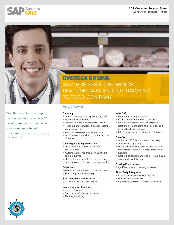 SAP Business One Success Story Oversea Casing