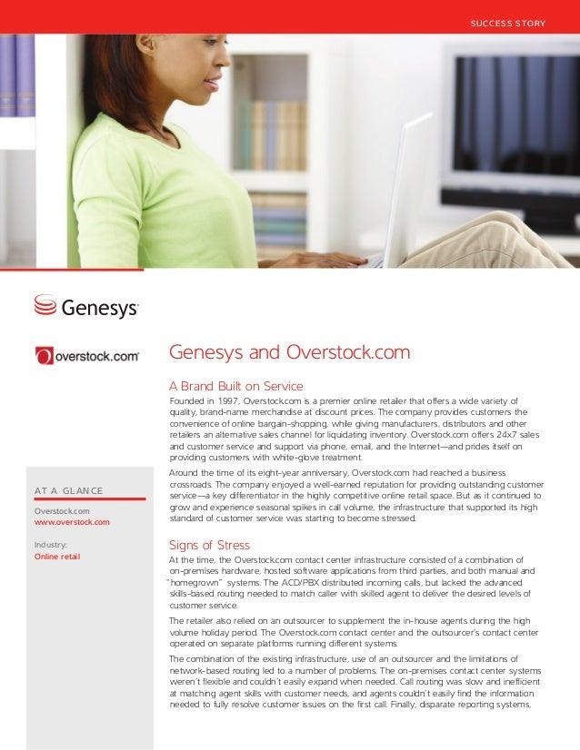 Overstock.com case study