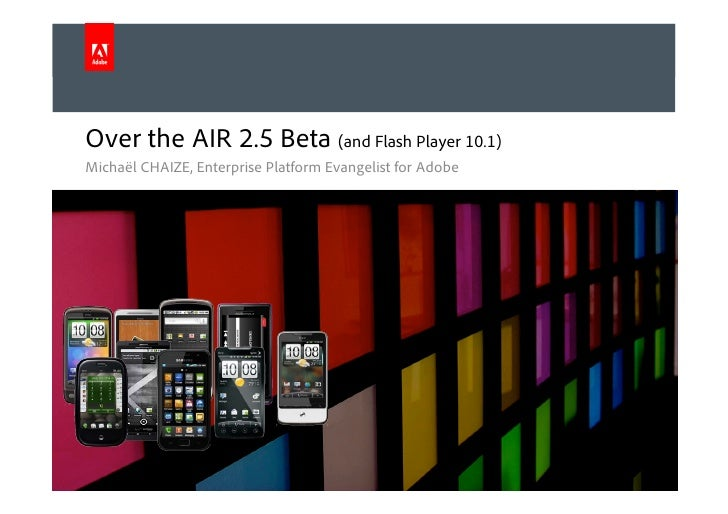 Over the air 2.5 - Adobe AIR for Android