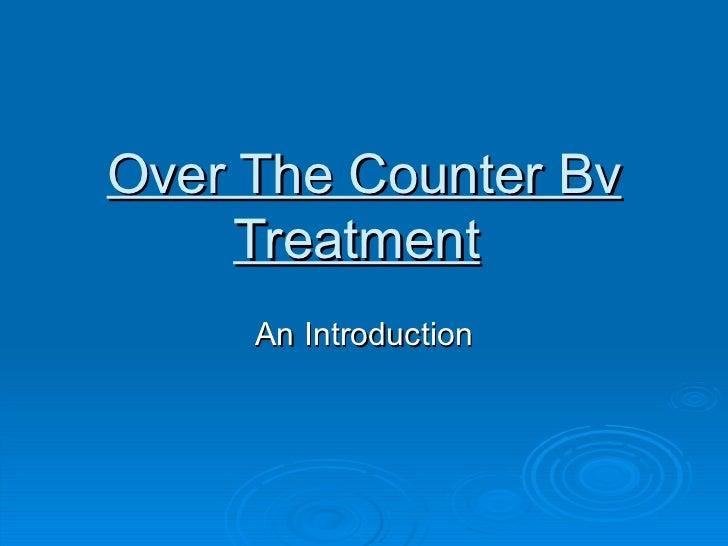 Over the counter uti treatment male