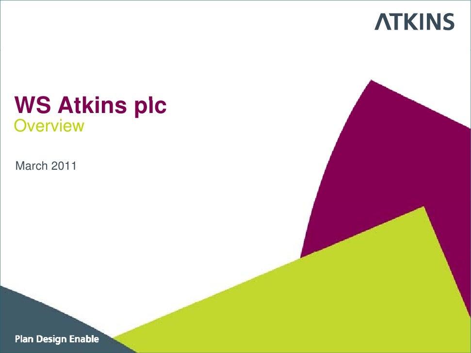 Plan Design Enable WS Atkins plc