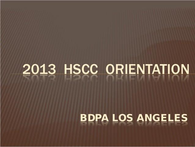 BDPA Computer Camp: Los Angeles (2013)