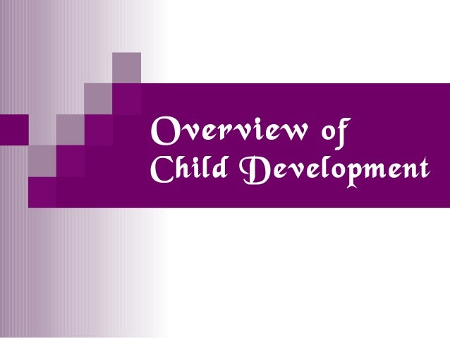 An Overview Of Child Development Theories