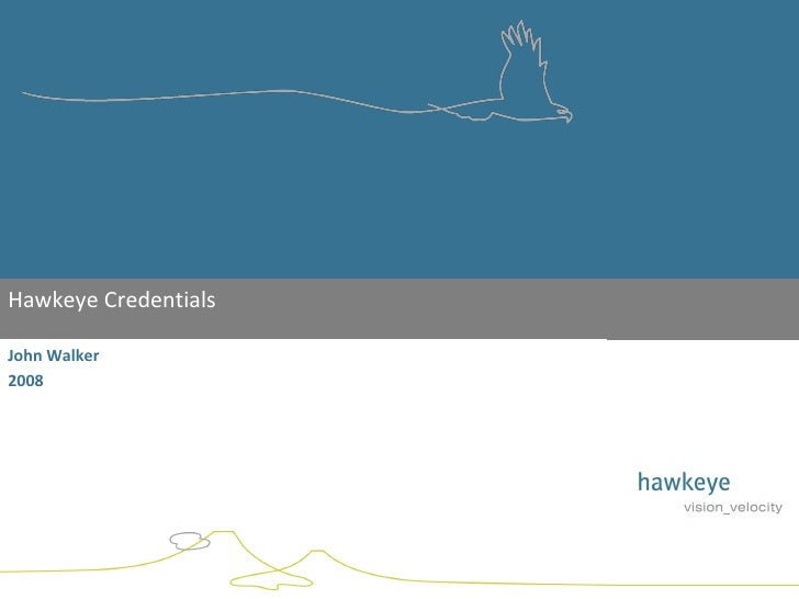Overview Of Hawkeye Services