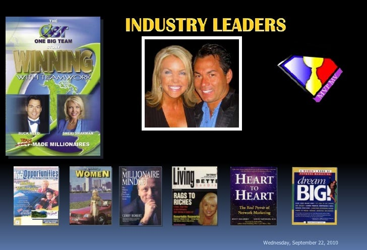 INDUSTRY LEADERS<br />Wednesday, September 22, 2010<br />