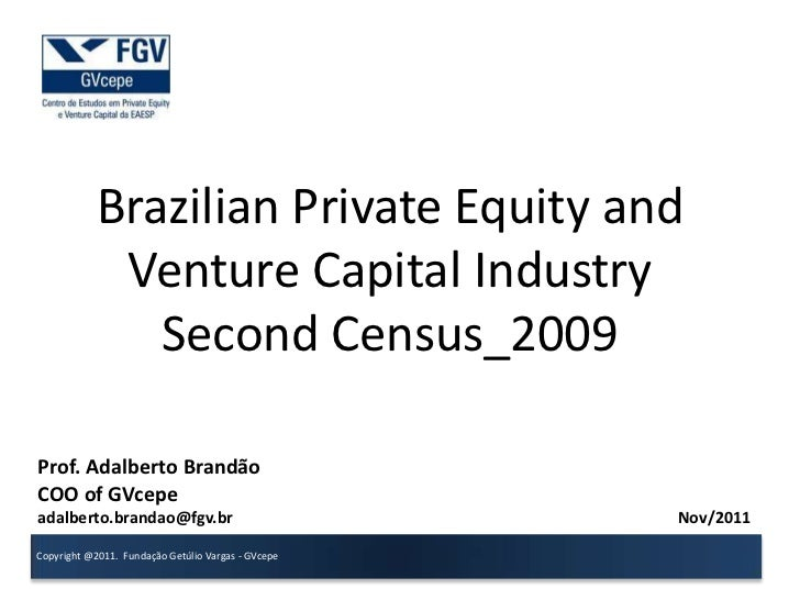 Overview 2o census_brazilian_ind_pevc_2009_g_vcepe