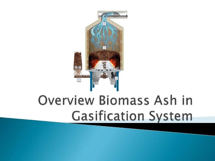 Overview biomass ash in gasification system