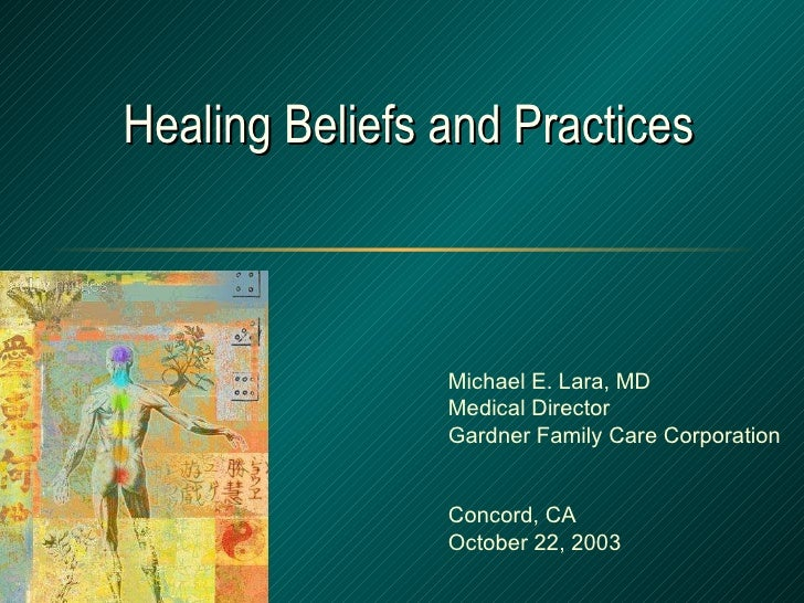 Overview of Complementary and Alternative Healing Traditions