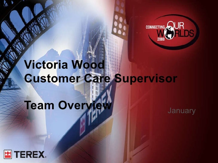Victoria Wood Customer Care Supervisor Team Overview January