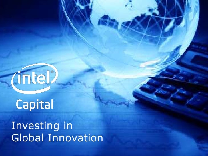 Investing inGlobal Innovation