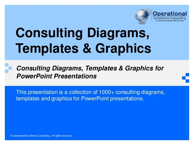 © Operational Excellence Consulting. All rights reserved. This presentation is a collection of 600+ business diagrams, tem...