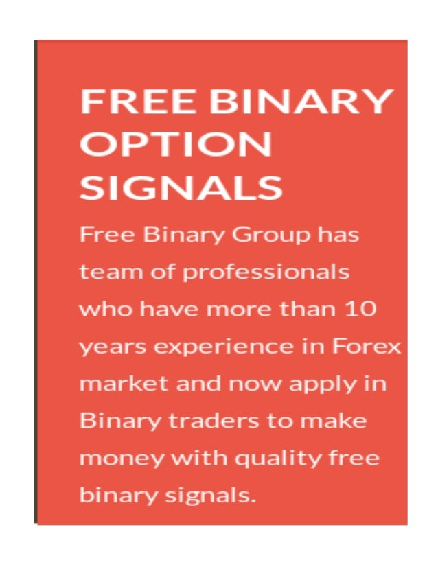 Overview of Free binary option signals