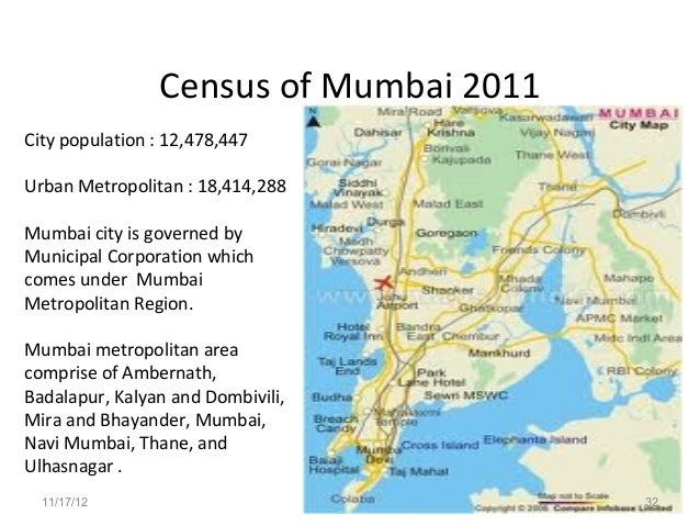 Mumbai Population Area Wise 12