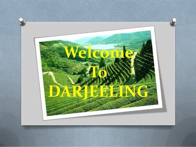 Overview of city darjeeling