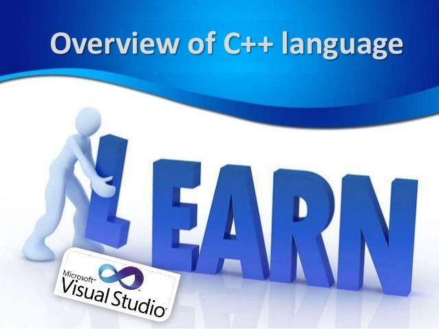 Overview of C++ language