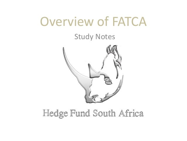 Overview of FATCA Study Notes