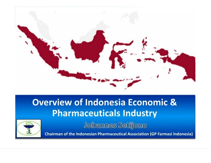 Overview of indonesia economic and pharma industry