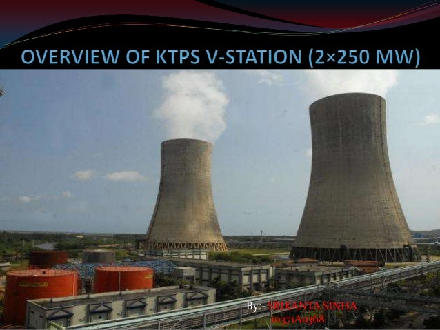 Overview of ktps v station (2×250 mw)