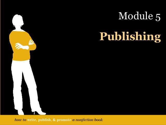 How do I self-publish a non-fiction book?