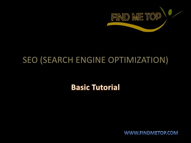 Overview of seo tutorial