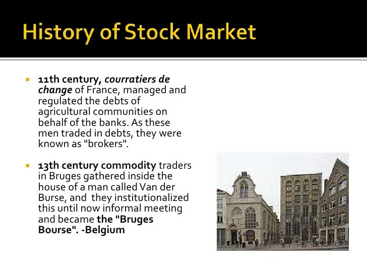 history of the stock market essay The history of china's stock market is elaborate and complex, reaching back to the 19th century the entire market is based around the shanghai stock exchange, but tied directly to two other exchanges in hong kong and shenzhen.