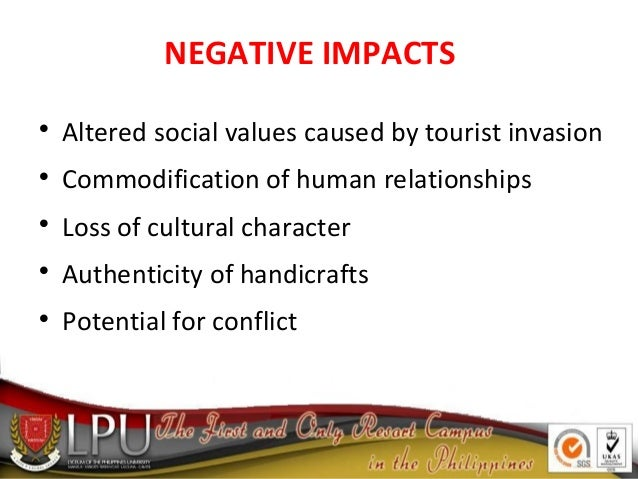 the positive and negative impacts of cultural commodification A positive work culture is on the other hand seen as the ideal/healthy work culture which promotes productivity, growth and employee satisfaction through the creation of a conducive working environment for all employees while a negative work culture is one which is retrogressive to organisational performance and employee relations.