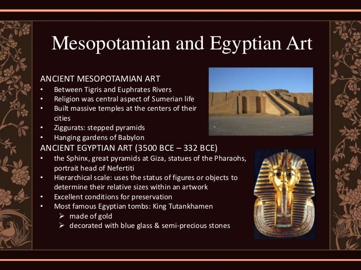 an analysis of the mesopotamian art and architecture