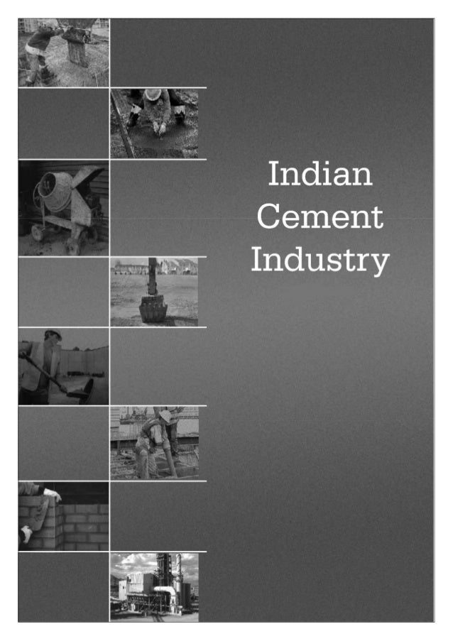 Overview on indian Cement Industry